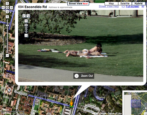 Vista Blog webcam news » google maps view funny and unusual uk