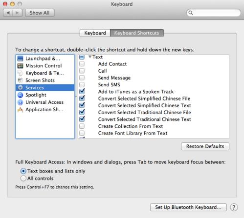 Mac OS Service, Contextual Menu and Automator | 無聊日誌